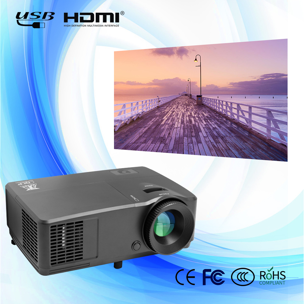HD 1080p led video DLP 4K projector DLP proyector