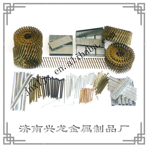 15 degree Common wire coil Steel nails factory