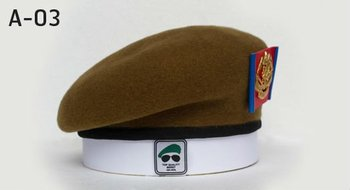 43a79f6247e1f Bp Army Beret (soil Brown) - Buy Brown Military Beret Product on ...