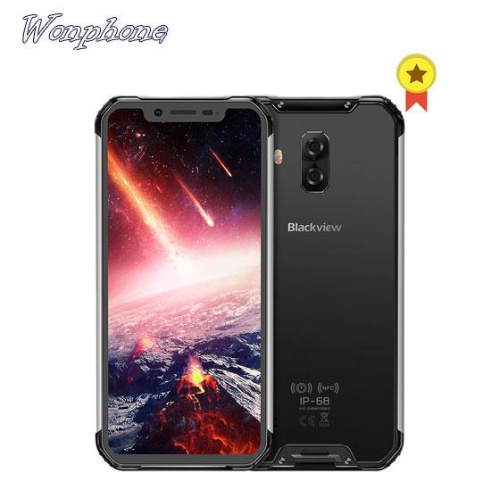 "Global 4g mobile phone Blackview BV9600 pro Rugged IP68 Waterproof Helio P60 6.21inch Smartphone 6GB RAM 128GB MT6771 5580mAh"""