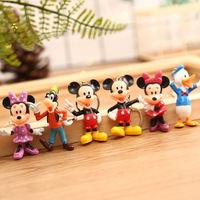 Wholesale Cartoon Mickey Mouse Figure Keychain Kit