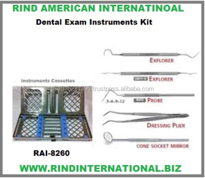 Dental Exam Instruments Kit Dental Examination Kit Dental Student Kit