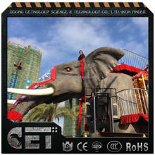 Cetnology- Giant Mechanical/Robotic Movable Spraying Water Elephant