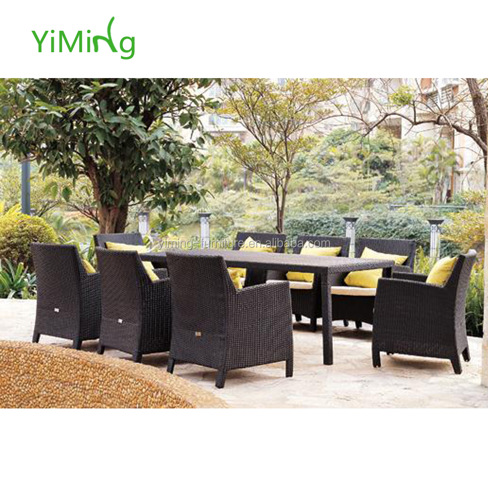 Outdoor patio muebles de mimbre sint tico rattan muebles for Muebles jardin rattan sintetico exterior