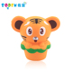 2019New Products PU Foam Soft Toy Slow Rising Squishy Paper cup tiger toys for kids