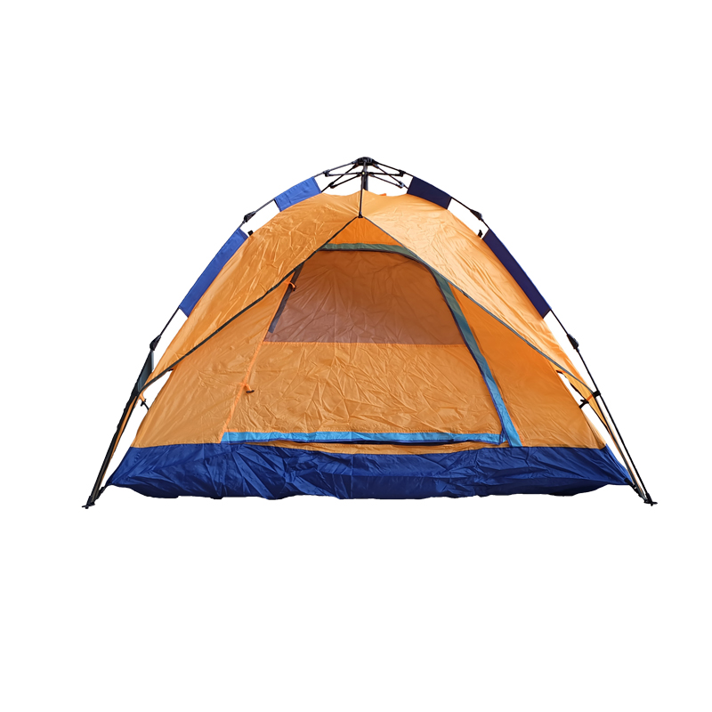 Family Personal Orange Camping Car Tent For One Person