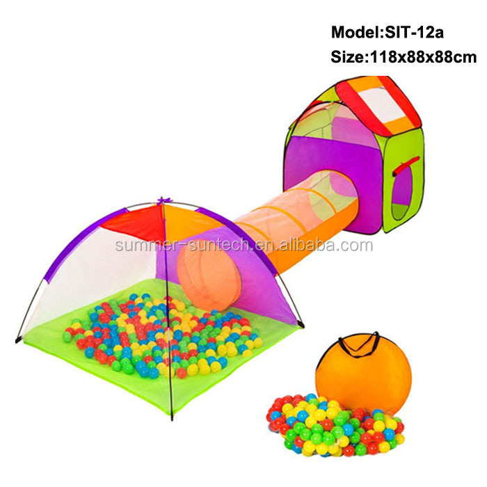 The best folding kid play tent with balls