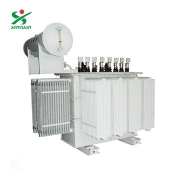 Three Phase Oil Immersed 2 Mva 13.8kv 480v Transformer