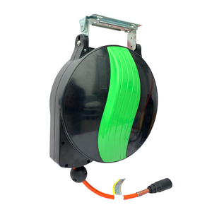 Automatic retractable hose reel recycling PU clamping tube pneumatic tools 12*8MM tracheal air drum air duct car beauty
