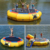 YY Wholesale Summer floating toys children trampoline park kids inflatable water trampoline