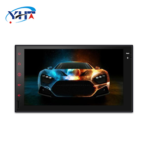 7 inch 2 din HD Touch Screen car auto stereo Rear View image head unit