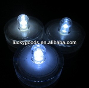 new design wedding plastic LED waterproof candle