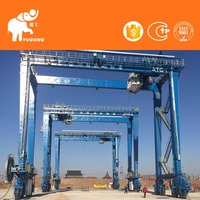 Material Handling Hoisting System Rotatable Rmg Crane Rail Mounted Gantry Crane Container Crane