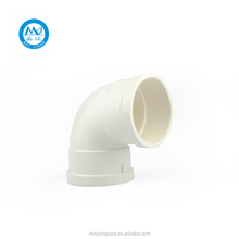 UPVC Pipe Conduit Fitting 1.5d 90 Degree 3D Elbow For Drainage
