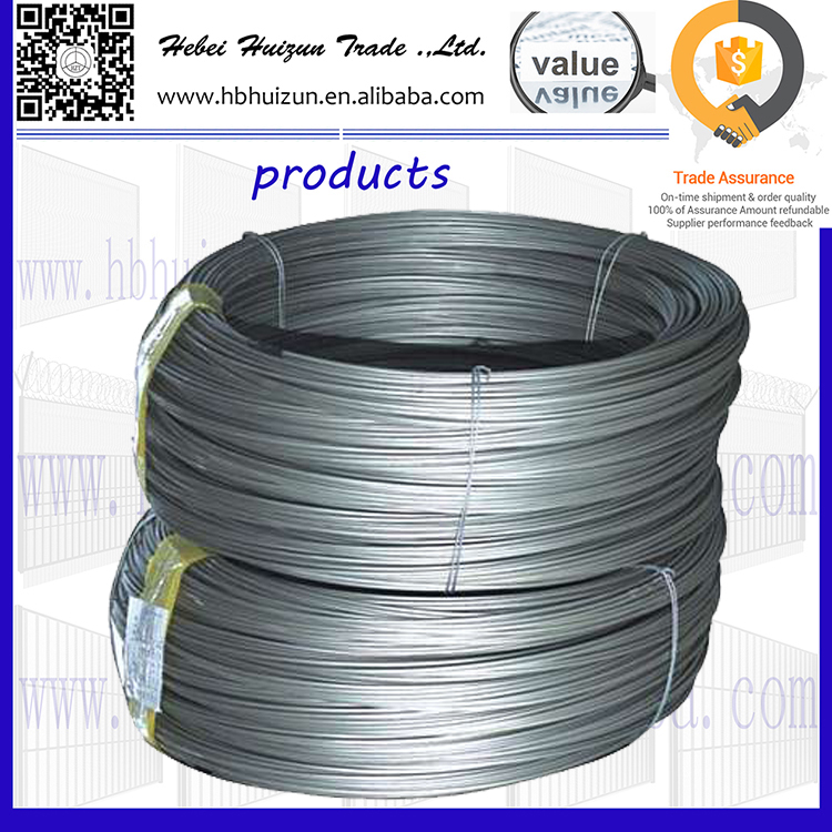 Q195/Q235 low carbon steel wire black annealed iron wire drawing