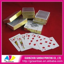 custom waterproof 100% pvc plastic playing cards poker