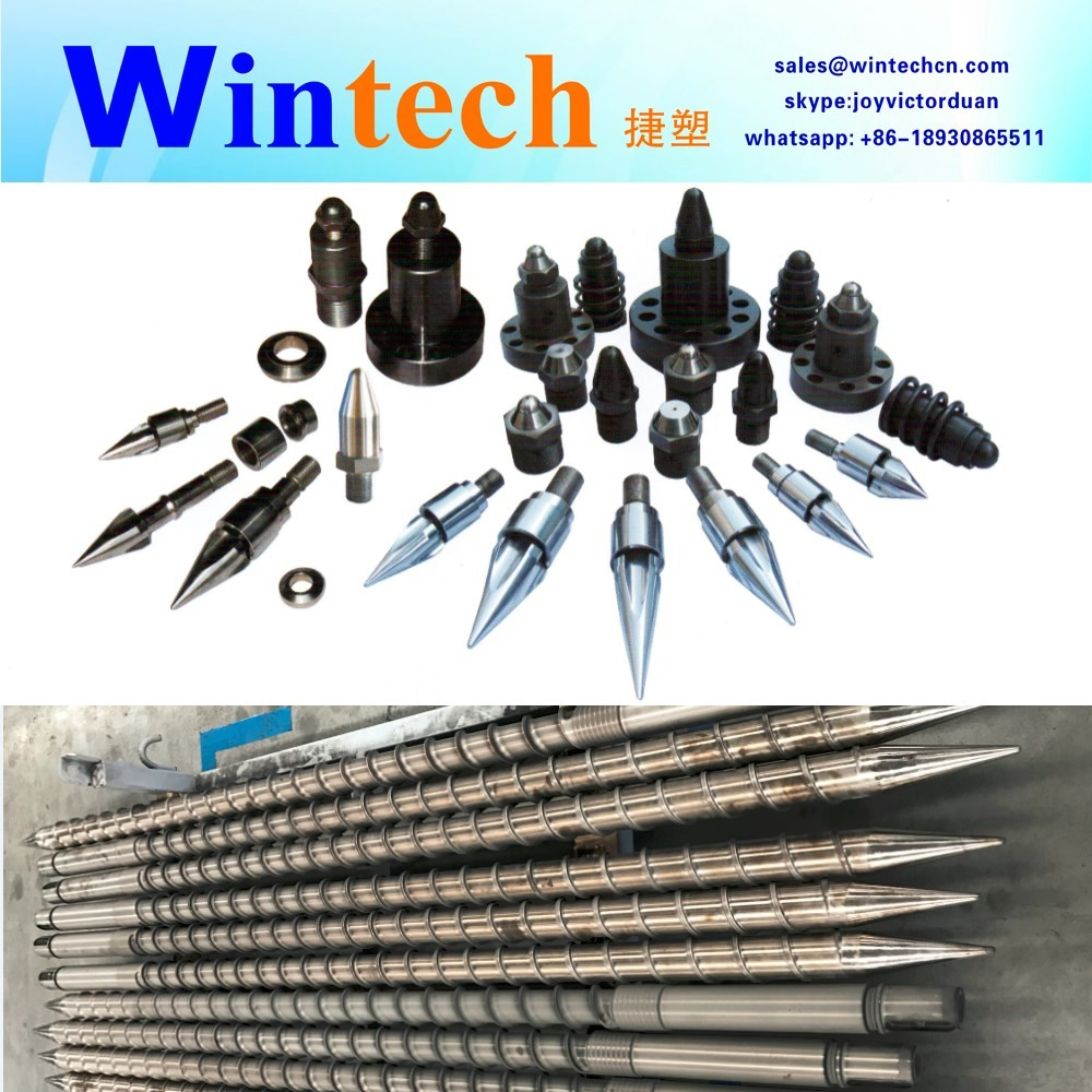 PVC/TPR/EVA Shoes Making Machine Plastic Injection Screw and Barrel