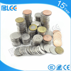 Factory direct cheap price custom brass metal amusement game token coin for coin operated vending machine