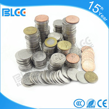 factory direct cheap price custom brass silver metal amusement game token coin for coin operated vending machine