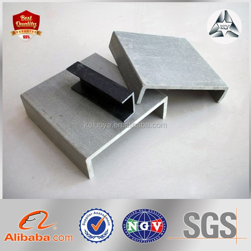 structural steel Q235B hot rolled u channel supplier