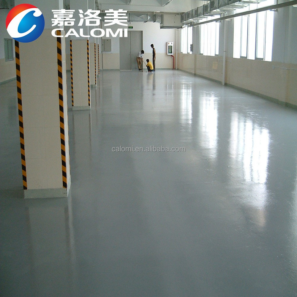 Antifouling coating two compound brush epoxy resin paint for concrete floor