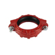 Grooved Pipe Fittings Rigid Coupling Or Joints For Fire Sprinkler System