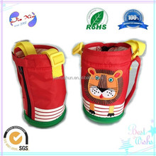 Factory price durable hot nylon cup sleeve, cup cover for travel