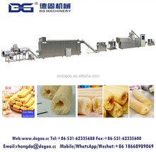 Chocolate core filling snack food extruder con flakes core filling snack cereal bar machine