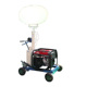 gasoline generator mobile balloon light tower