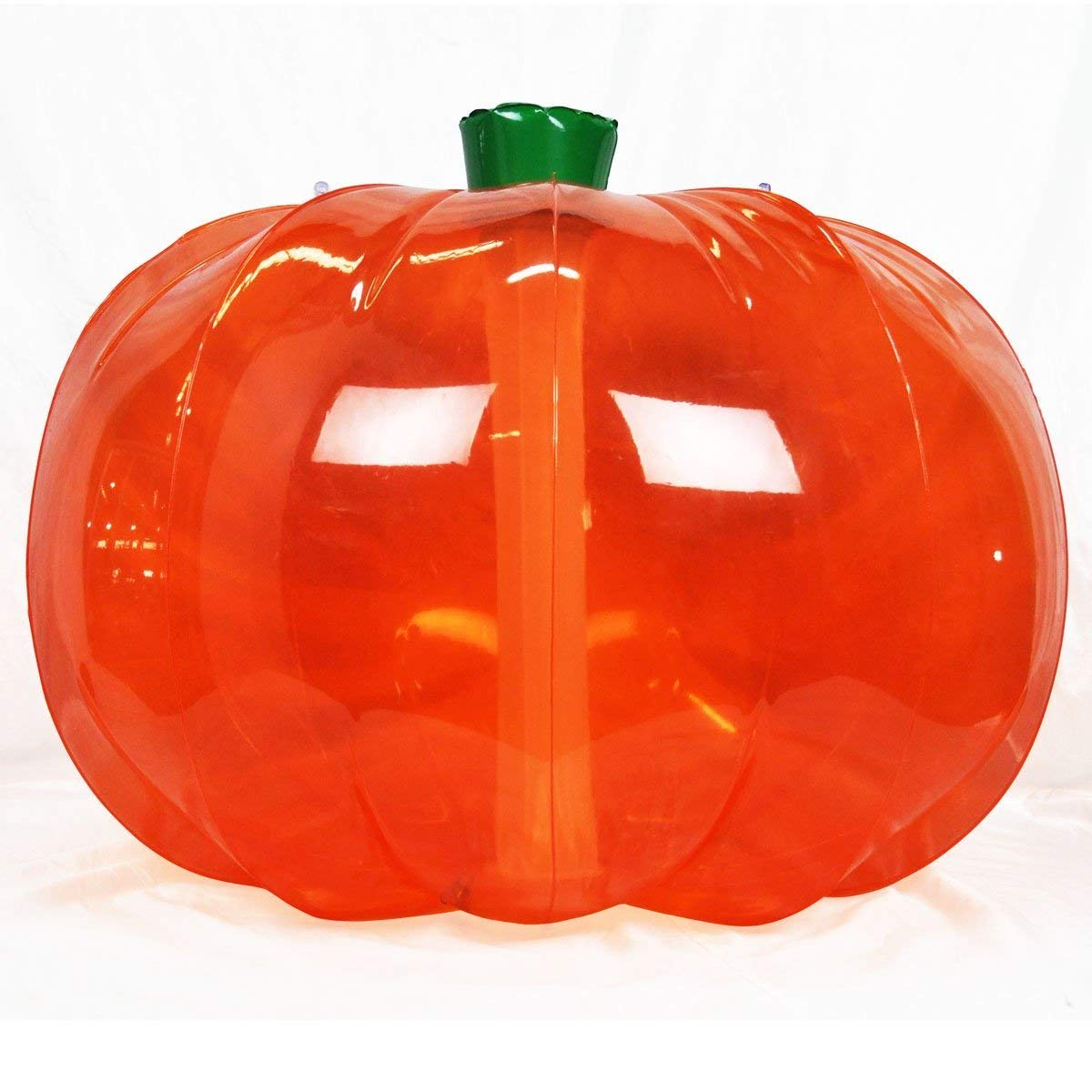 Jet Creations Pumpkin Size 36 inch Tall – Yard Inflatable Sign Halloween DYI Thanksgiving Crafts Home Decor Kids and Adults, Translucent/Multicolor