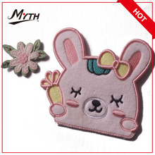 Clothing patches designer for jeans embroidery patch badges/Self adhesive garment fabric patch