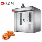 Favourableprice Baking pastry hot air rotary oven 32 tray,Industrial Gas bakery 32 trays rotary oven