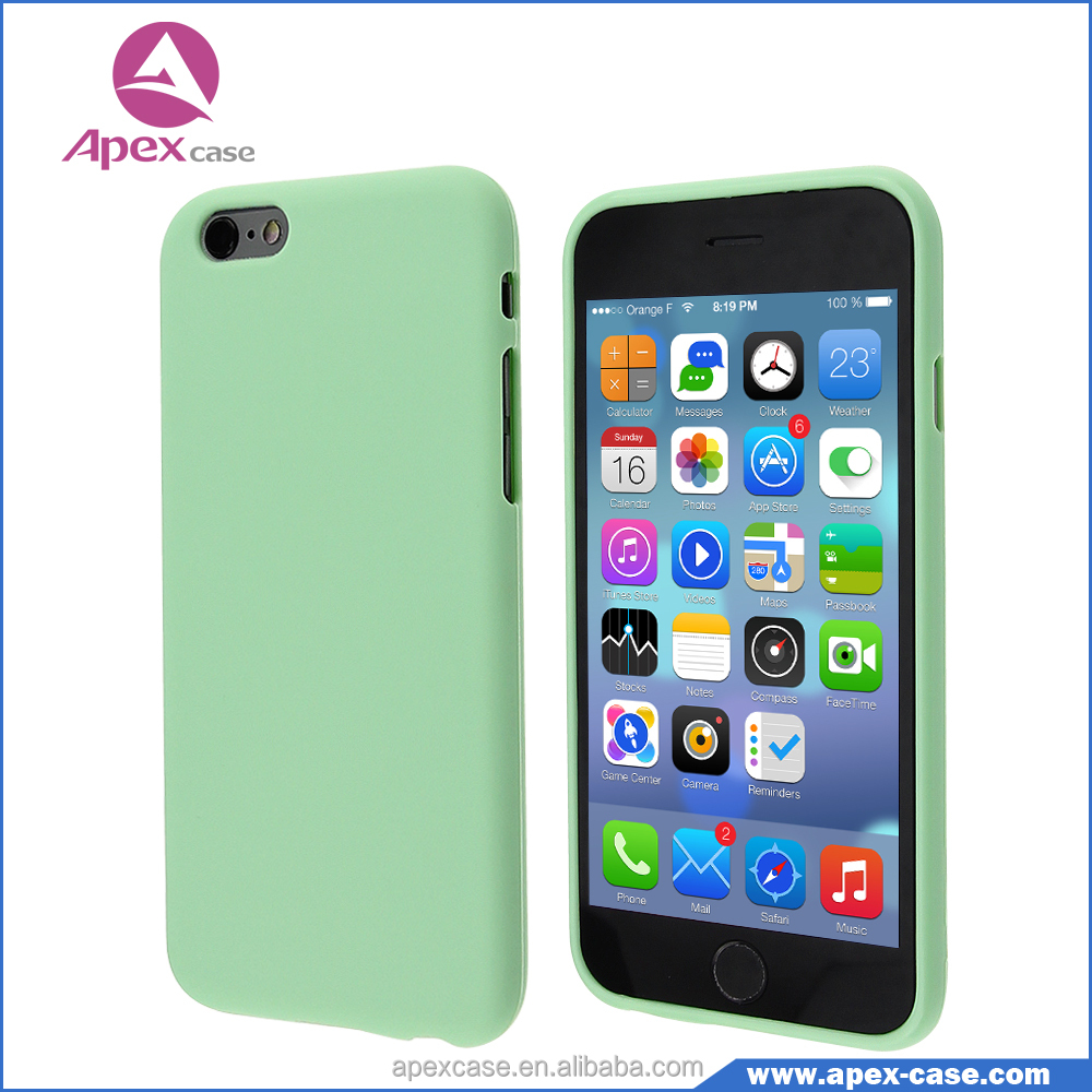 iphone 6 weight slim tpu light weight phone back cover for iphone 6 11451