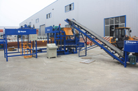 semi-automatic clay brick making machine QT 4-25