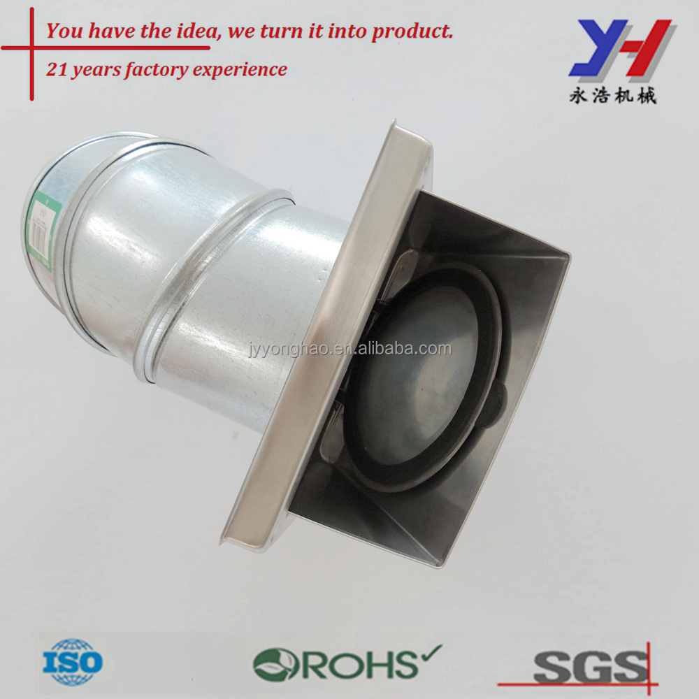 Factory custom Aluminum welded pipes for air vent