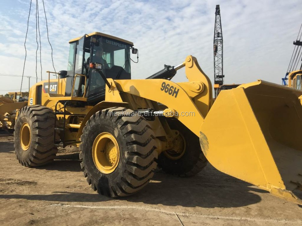 High Quality CATE Used Wheel Loader 966H 980G Japan Original Cheap Price Hot Sale