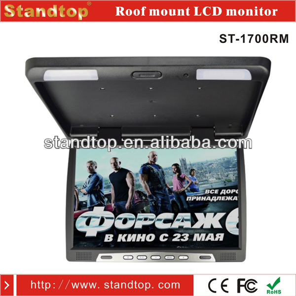 17 inch Roof Mount Car monitor VGA
