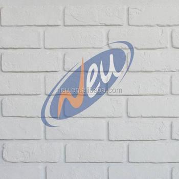 White Faux Bricks Wall Panels Interior Chain S