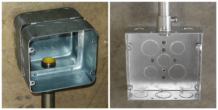 Electrical Steel Junction Box Type Outlet Boxes Buy