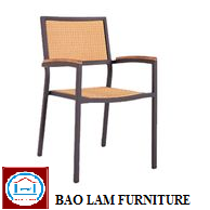 New Style Rattan Furniture Chair with Aluminium Frame