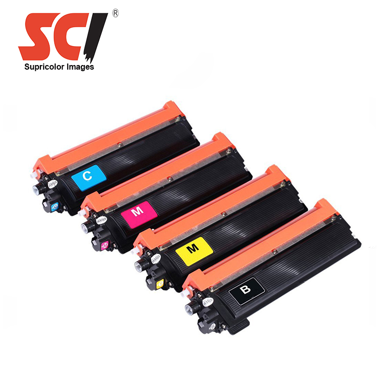 Supricolor TN253 TN257 color toner cartridge compatible for brother DCP-L3510CDW/L3517CDW/L3550CDW