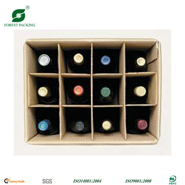 Cardboard Wine Bottle Box Divider, Cardboard Wine Bottle Box ...