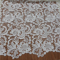Swiss guipure lace fabric latest french lace fabric wholesale african tulle lace fabrics HY0355