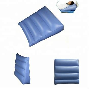 Custom Logo Travel Bed Leg Rest Inflatable Wedge Pillow Buy