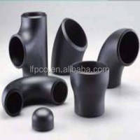 Best quality black iron pipe butt welded fittings