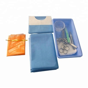 CE ISO disposable surgical instruments spine set