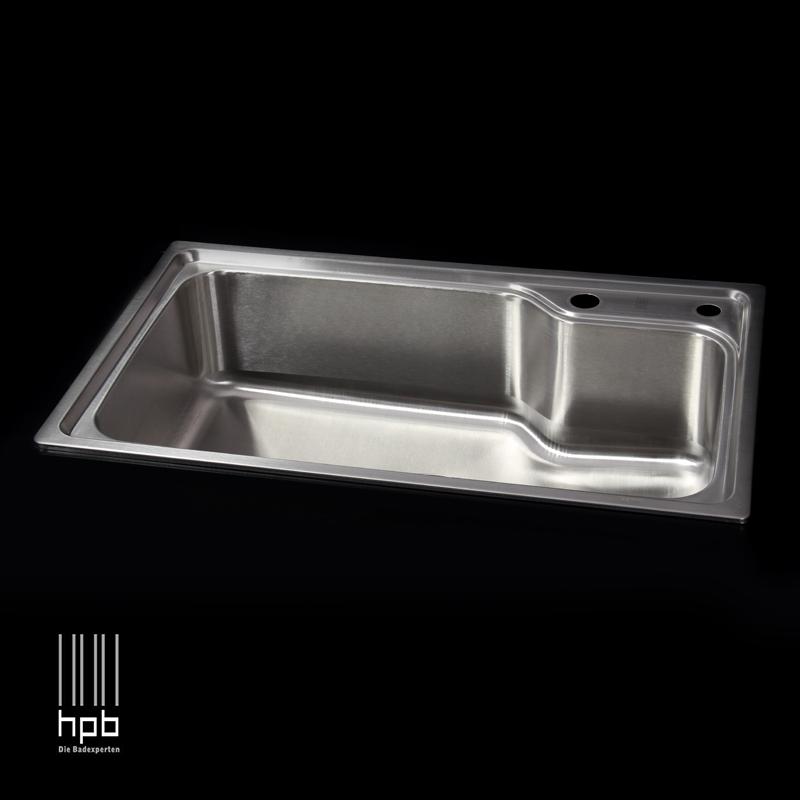 Sink Undermount Kitchen Single Bowel