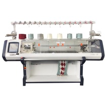 phanstar multi gauge christmas used flat sweater knitting machine