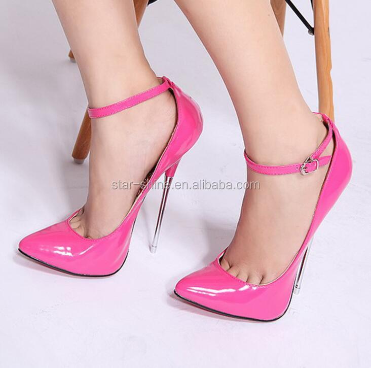 European party shiny stiletto heel heel toe high pointy women women shoes SW1271 super sexy 4dBw74q