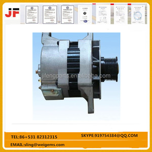 600-861-3411 Excavator Spare Parts Pc200-7 35a Alternator High Quality Part